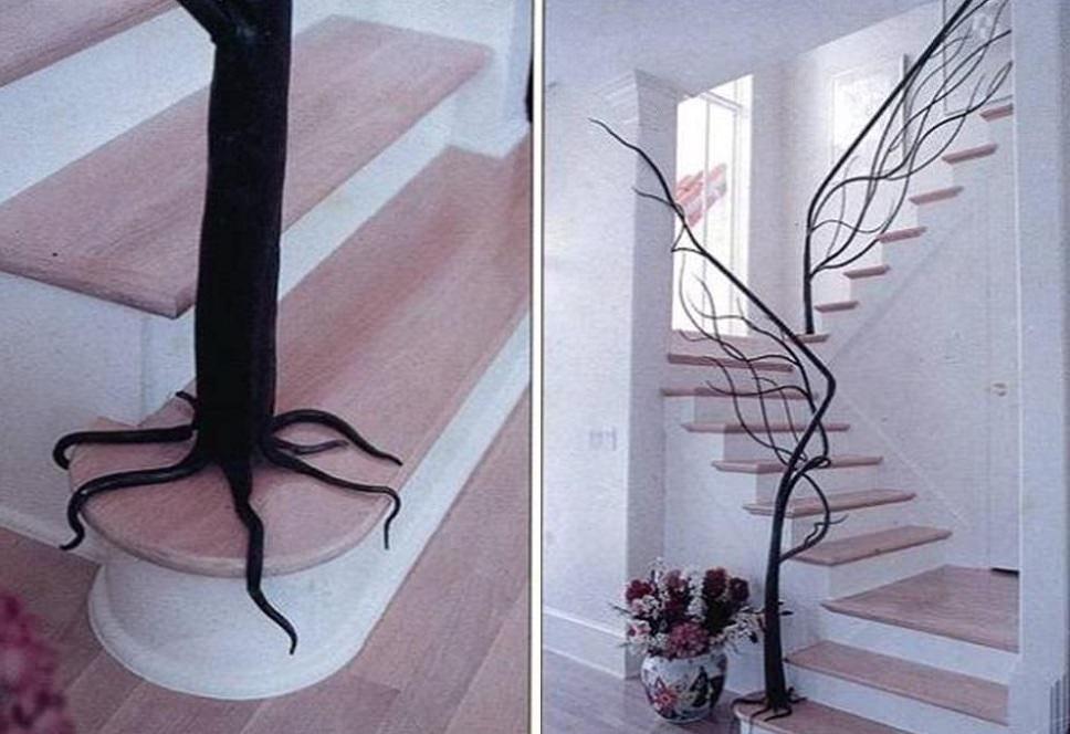 Des escaliers pas comme les autres ad quation07 - Rambarde escalier originale ...